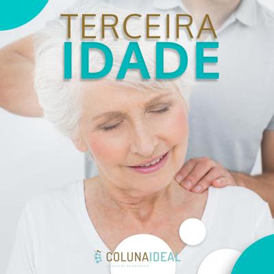 Você sabia que idosos podem e devem fazer Quiropraxia?