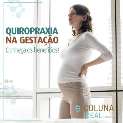 Quiropraxia na gestação